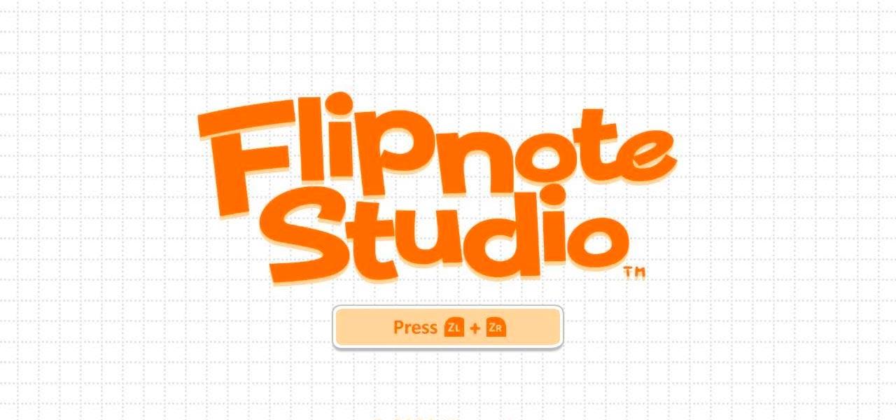 Flipnote Studio - Nintendo DS
