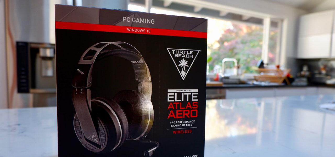 Turtle Beach Elite Atlas Aero Gaming Headset Review