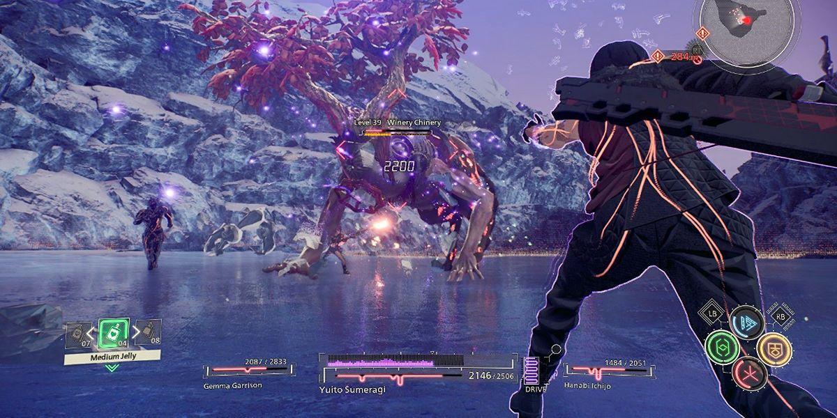 Scarlet Nexus Fight Scene